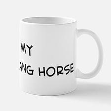 I Love Kiger Mustang Horse Mug