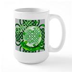 Celtic Artwork Designs Large Mug