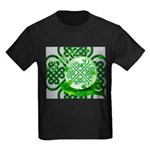 Celtic Artwork Designs Kids Dark T-Shirt