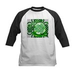 Celtic Artwork Designs Kids Baseball Jersey