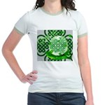 Celtic Artwork Designs Jr. Ringer T-Shirt