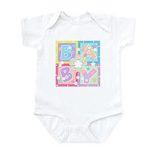 Baby Blocks Infant Creeper