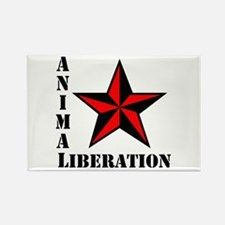 Animal Liberation: STAR Rectangle Magnet (100 pack