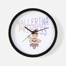 Ballerina Princess Wall Clock