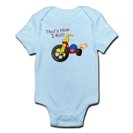 Big Wheel Kid's Infant Bodysuit