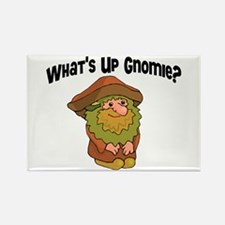 Whats Up Gnomie Rectangle Magnet