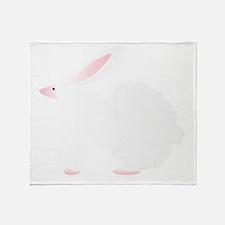 Big Bulky Bubble Bunny Bob Throw Blanket
