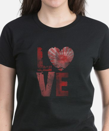 L O V E Women's Dark T-Shirt
