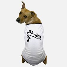 Murder, Inc. Chalk Outline Dog T-Shirt