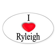Ryleigh Oval Decal