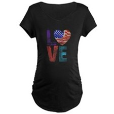 LOVE - PROUD TO BE AMERICAN T-Shirt
