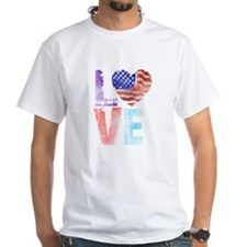LOVE - PROUD TO BE AMERICAN Shirt