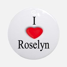 Roselyn Ornament (Round)