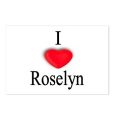 Roselyn Postcards (Package of 8)