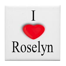 Roselyn Tile Coaster