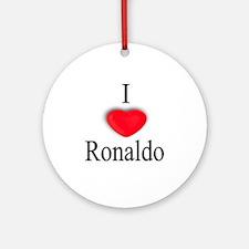 Ronaldo Ornament (Round)