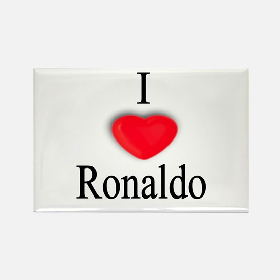 Ronaldo Rectangle Magnet