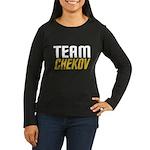 Team Checkov Women's Long Sleeve Dark T-Shirt