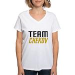 Team Checkov Women's V-Neck T-Shirt