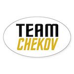 Team Checkov Sticker (Oval 50 pk)