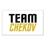 Team Checkov Sticker (Rectangle 10 pk)