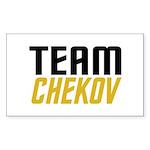 Team Checkov Sticker (Rectangle 50 pk)