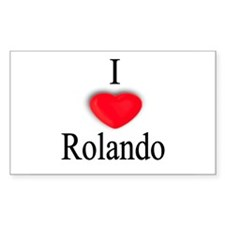 Rolando Rectangle Decal