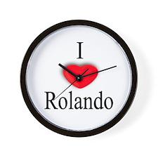 Rolando Wall Clock