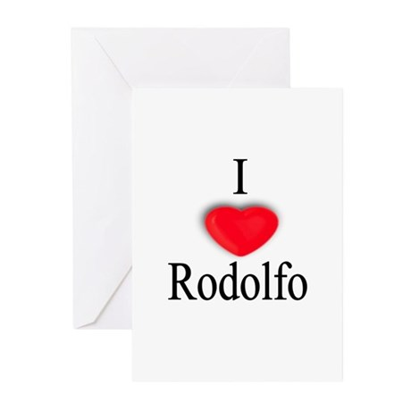 Rodolfo Greeting Cards (Pk of 10)