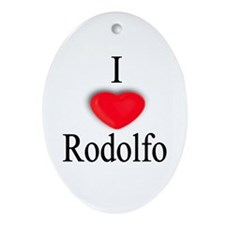 Rodolfo Oval Ornament