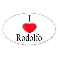 Rodolfo Oval Decal