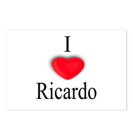 Ricardo Postcards (Package of 8)