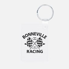 Bonneville Racing Aluminum Photo Keychain