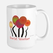 Social Worker III Large Mug