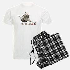 The Bitches Love Me Pajamas