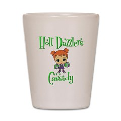 Holt Dazzlers Cassidy Shot Glass
