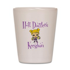 Holt Dazzlers Keeghan Shot Glass