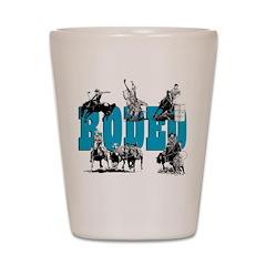 Rodeo Shot Glass