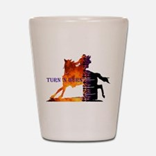 Turn 'n Burn Shot Glass