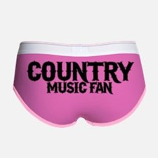 Country Music Fan Women's Boy Brief