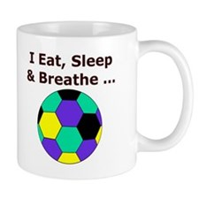 Soccer Eat Sleep Breathe Mug