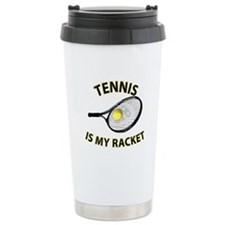 Tennis Racket Travel Mug