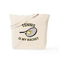 Tennis Racket Tote Bag