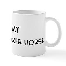 I Love Florida Cracker Horse Mug