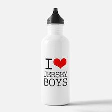 I Heart Jersey Boys Water Bottle
