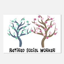 Social Worker III Postcards (Package of 8)