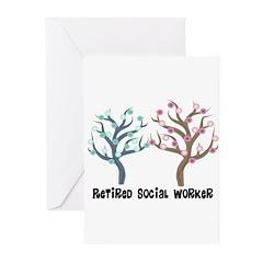Social Worker III Greeting Cards (Pk of 10)