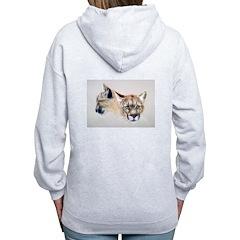 Animal (Back) Zip Hoodie