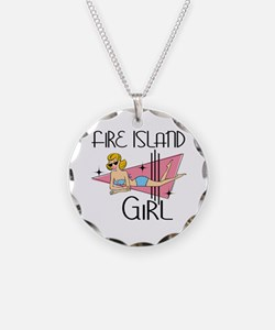 Fire Island Girl Necklace