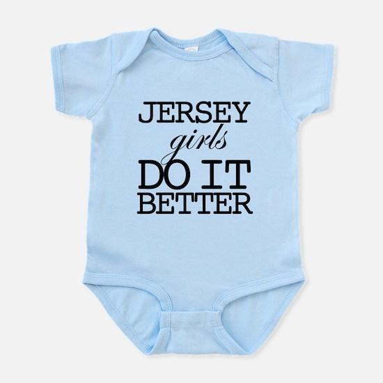 Jersey Girls Do It Better Infant Bodysuit